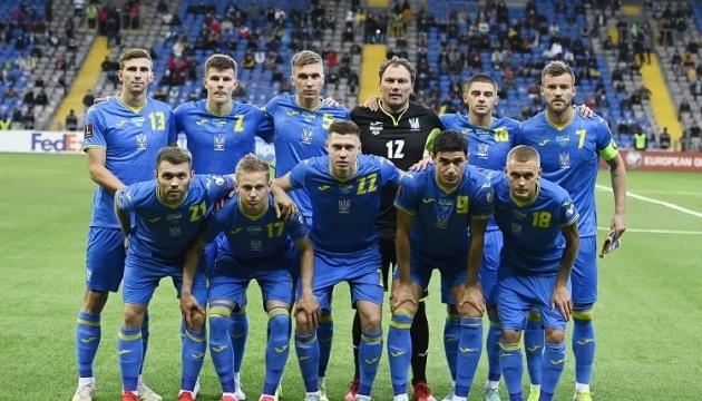 Україна посідає 27 місце у вересневому рейтингу ФІФА