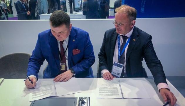 ウクライナ国営防衛企業、英バッドコック社と協力合意を締結