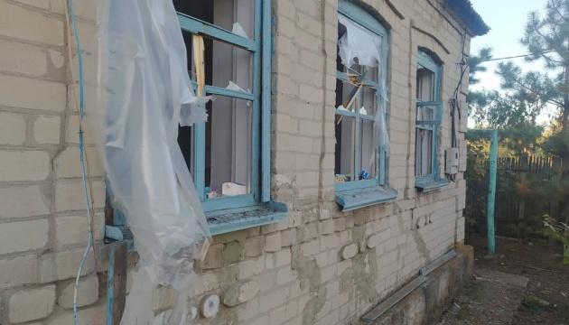 Окупанти обстріляли селище Тарамчук - пошкоджені будинки, немає електрики