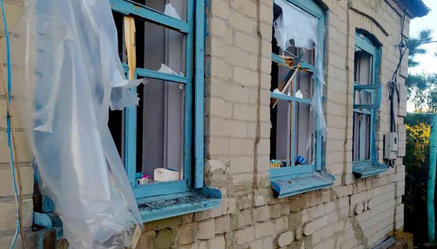 Beschädigte Häuser, kein Strom: Besatzer nehmen Dorf Taramtschuk unter Beschuss