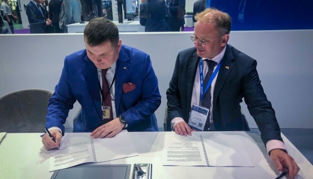 Ukroboronprom y Babcock firman un acuerdo de cooperación para ampliar las capacidades de la Armada de Ucrania