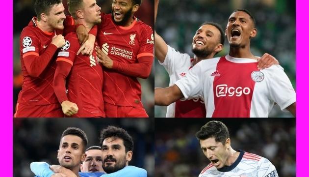 Стала известна сборная 1 тура группового раунда Лиги чемпионов УЕФА