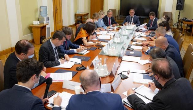 На Банковій обговорили судову реформу з послами G7 та ЄС та узгодили спільну заяву