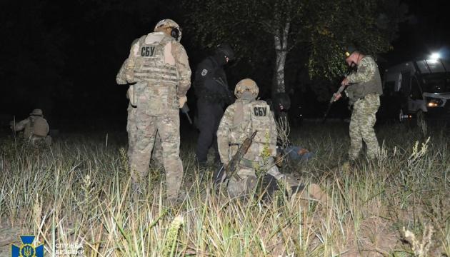 СБУ возле северной границы ловила «диверсантов» с дроном и взрывчаткой