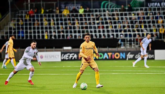 «Заря» проиграла на старте Лиги конференций УЕФА
