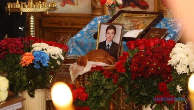 В Днипре попрощались с Дарьей Гречищевой, погибшей в результате взрыва автомобиля