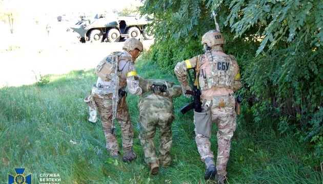 SBU übte Kampf gegen feindliche Saboteure nahe Grenze zu Russland