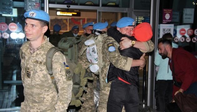 Из Конго вернулись более 150 украинских миротворцев