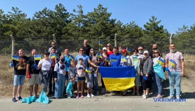 Українці в Анкарі долучилися до Всесвітнього дня прибирання