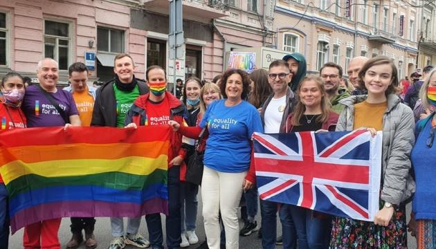 Посли трьох країн взяли участь у Марші рівності в Києві