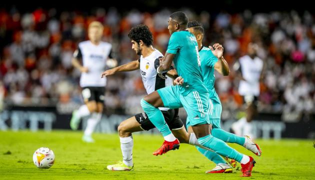 Ла Ліга: «Реал Мадрид» вириває перемогу над «Валенсією»