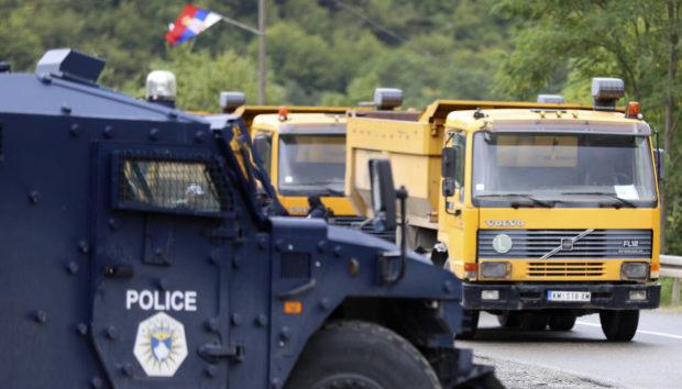 На границе Косово и Сербии вспыхнули протесты