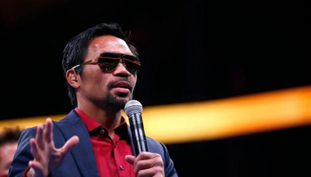 Легендарный боксер Пакьяо завершил спортивную карьеру