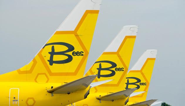 Лоукостер Bees Airline полетить з Одеси до Праги, Тбілісі та Гянджі