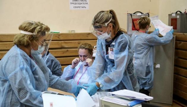 У Росії опрацювали всі протоколи на виборах, «єдиноросам» нарахували майже 50% голосів