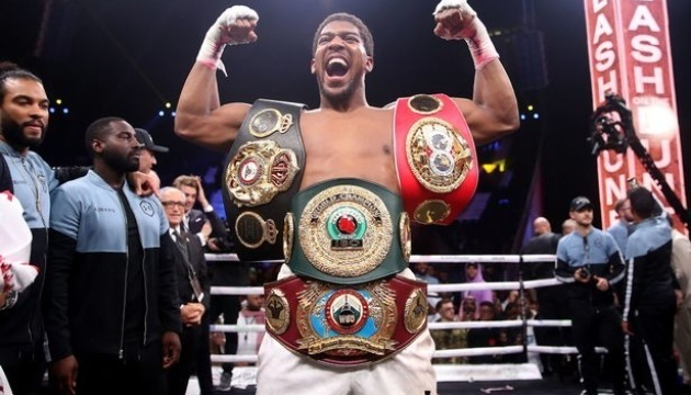 Joshua to earn GBP 15M for Usyk fight - media