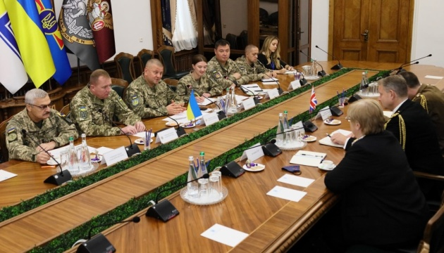 Ukrainian, British defense officials discuss prospects for bilateral cooperation