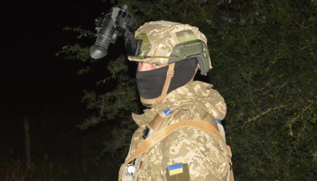 Saber Junction 2021: Paracaidistas ucranianos realizan entrenamiento nocturno