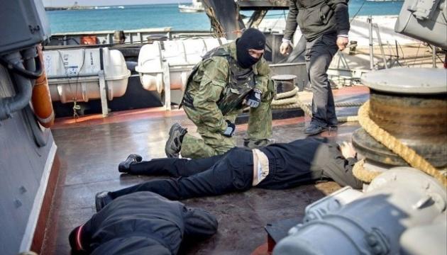 В Україні оголосили підозру комбригу РФ, який керував захопленням корвета «Хмельницький»