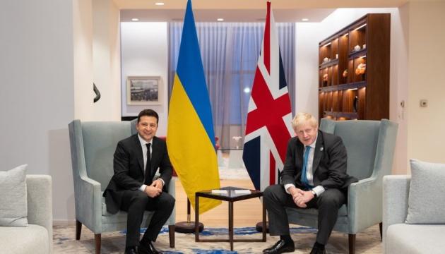 Зеленський зустрівся з прем'єром Британії