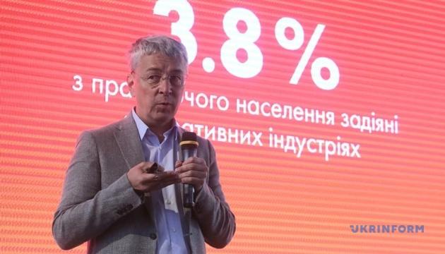 Ткаченко призывает инвестировать в креативную экономику