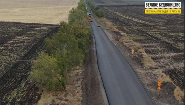 На Донеччині ремонтують дорогу на під'їзді до Святогірська