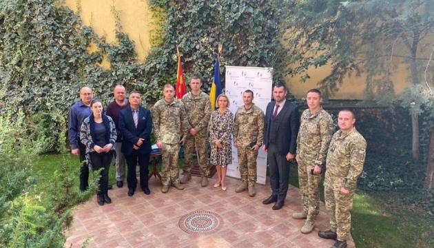У Північній Македонії нагородили українських військових
