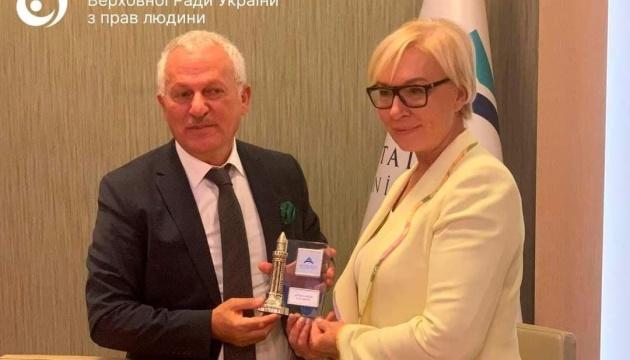 Денісова передала головному омбудсмену Туреччини список кримських політв'язнів Кремля