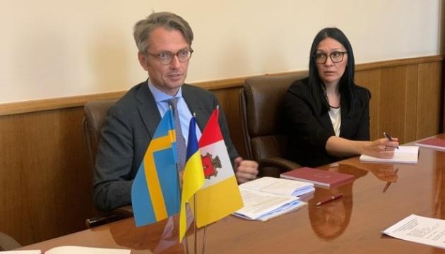 Embajador de Suecia: Ucrania protege la seguridad de todas las naciones europeas