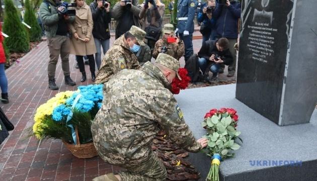 Gedenken an Opfer der Katastrophe An-26 in Region Charkiw