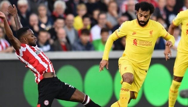 АПЛ: «Ліверпуль» втрачає очки з «Брентфордом» в результативному матчі