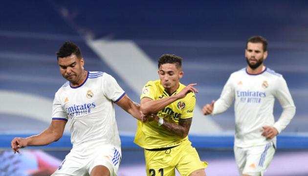 Ла Лига: «Реал Мадрид» сыграл вничью с «Вильярреалом»