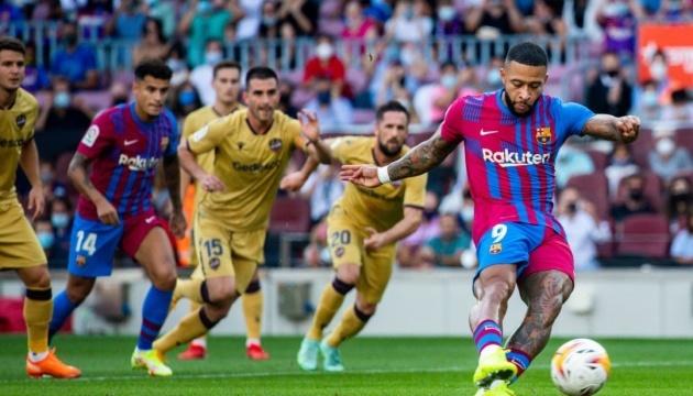 Ла Лига: «Барселона» победила «Леванте»
