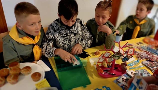 Пластуни провели у Фінляндії благодійний ярмарок