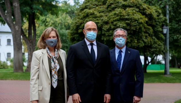 Правительства Украины и США заключили соглашение об улучшении системы здравоохранения