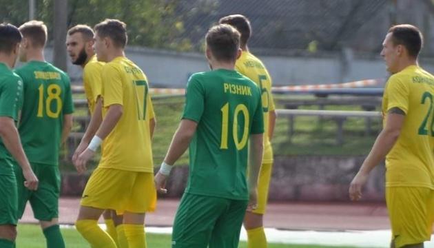Первая лига: «Нива» уступила в Тернополе «Прикарпатью» в игре 10 тура