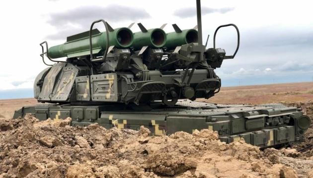 «Об'єднані зусилля–2021»: українські «Буки» знищили всі цілі в небі