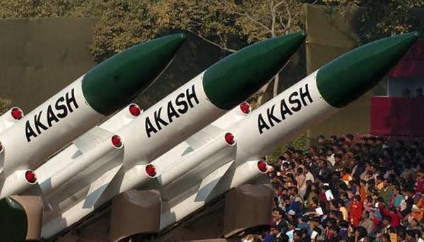 Індія успішно випробувала зенітну ракету Akash Prime