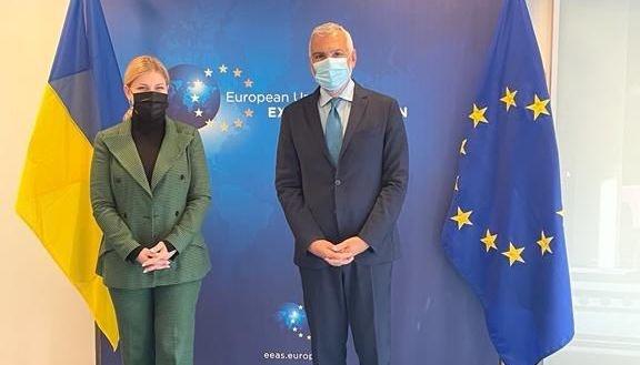 Подготовка саммита: Стефанишина рассказала ЕС о выполнении Соглашения об ассоциации