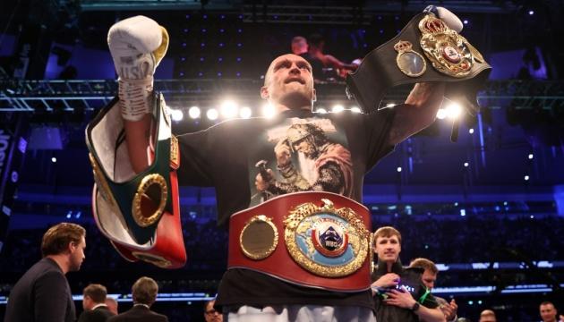 Usyk lidera el ranking de los pesos pesados según The Ring