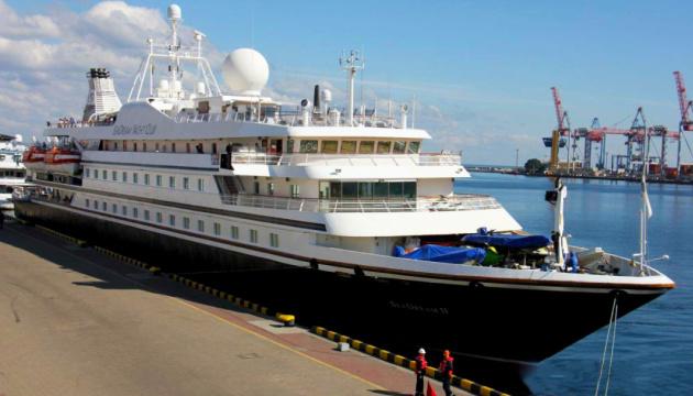 Erstes Kreuzfahrtschiff nach zwei Jahren in Odessa