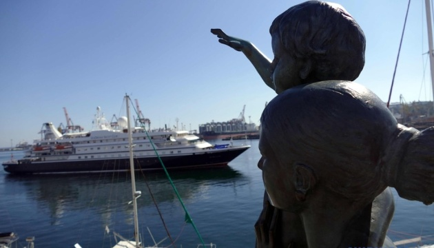 Po raz pierwszy od dwóch lat do Odessy przybył zagraniczny wycieczkowiec