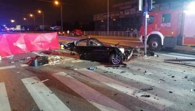 Three Ukrainians killed in Poland car accident