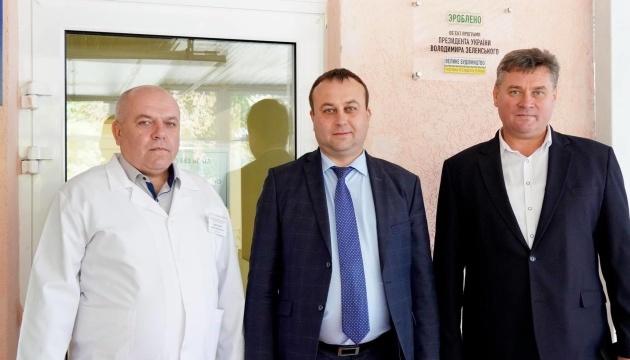 Сергій Борзов: «На Вінниччині відкрили вже сьоме приймальне відділення»