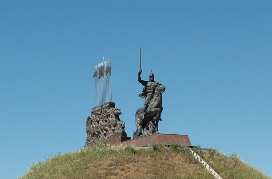 Князь Ігор в обороні Станиці Луганської (фото з інтернету)