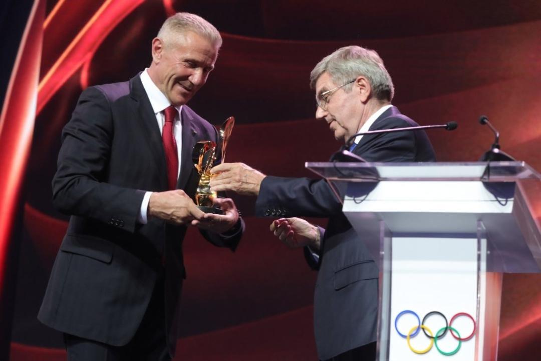 Нагорода МОК Сергію Бубц