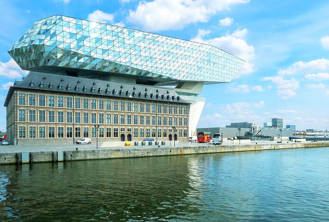 Будівля управління порту в Антверпені (Havenhuis; 2016), Бельгія