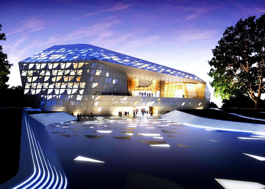 Фестивальний комплекс імені Бетховена в Бонні, Німеччина, 2020 р.