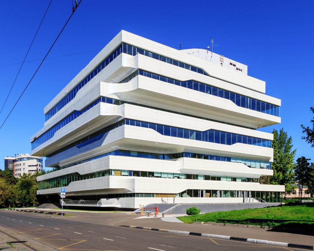 """офісна будівля """"Dominion Tower"""" в Москві (2015)"""