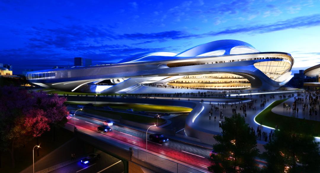 Олімпійський стадіон в Токіо, Японія, 2020 р.